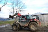 Then he's in his other chariot the Manitou